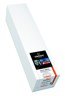 "Artist Canvas Professional Gloss 390 gsm - 24"" x 10'"