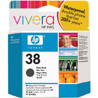 HP 38 Matte Black Pigment ink Cartridge