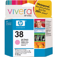 HP 38 Light  Magenta Pigment ink Cartridge