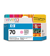 HP 70 Light Magenta Vivera Ink Cartridge for Z2100/Z3100/Z3200
