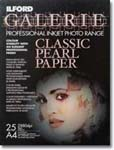 """Ilford Galerie Classic Pearl - 13""""x19"""" - Limited Quantities Available"""