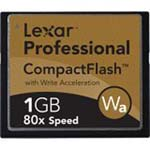 1GB Lexar Media 80X Compact Flash Card