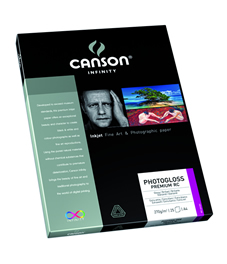 "PhotoGloss Premium RC  270 gsm - 8.5"" x 11"""