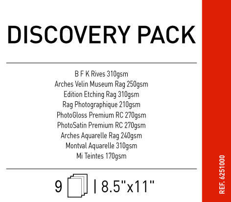 "Discovery Pack 260 gsm - 8.5"" x 11"""