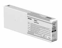 EPSON P6000/P7000/P8000/P9000 Ultrachrome HD Ink 700 ML LIGHT BLACK