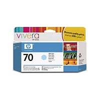 HP 70 Light Cyan Vivera Ink Cartridge for Z2100/Z3100/Z3200