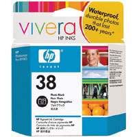 HP 38 Photo Black Pigment ink Cartridge