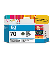 HP 70 Matte Black Vivera Ink Cartridge for Z2100/Z3100/Z3200